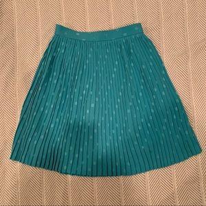 Dresses & Skirts - Pleated sea foam green skirt XS-XXS